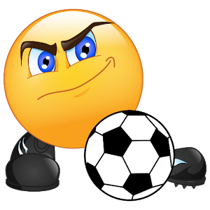 Soccer Fan New Emoticons Emoticon Smiley Emoji