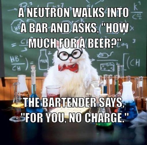 Chemistry Cat - Neutron