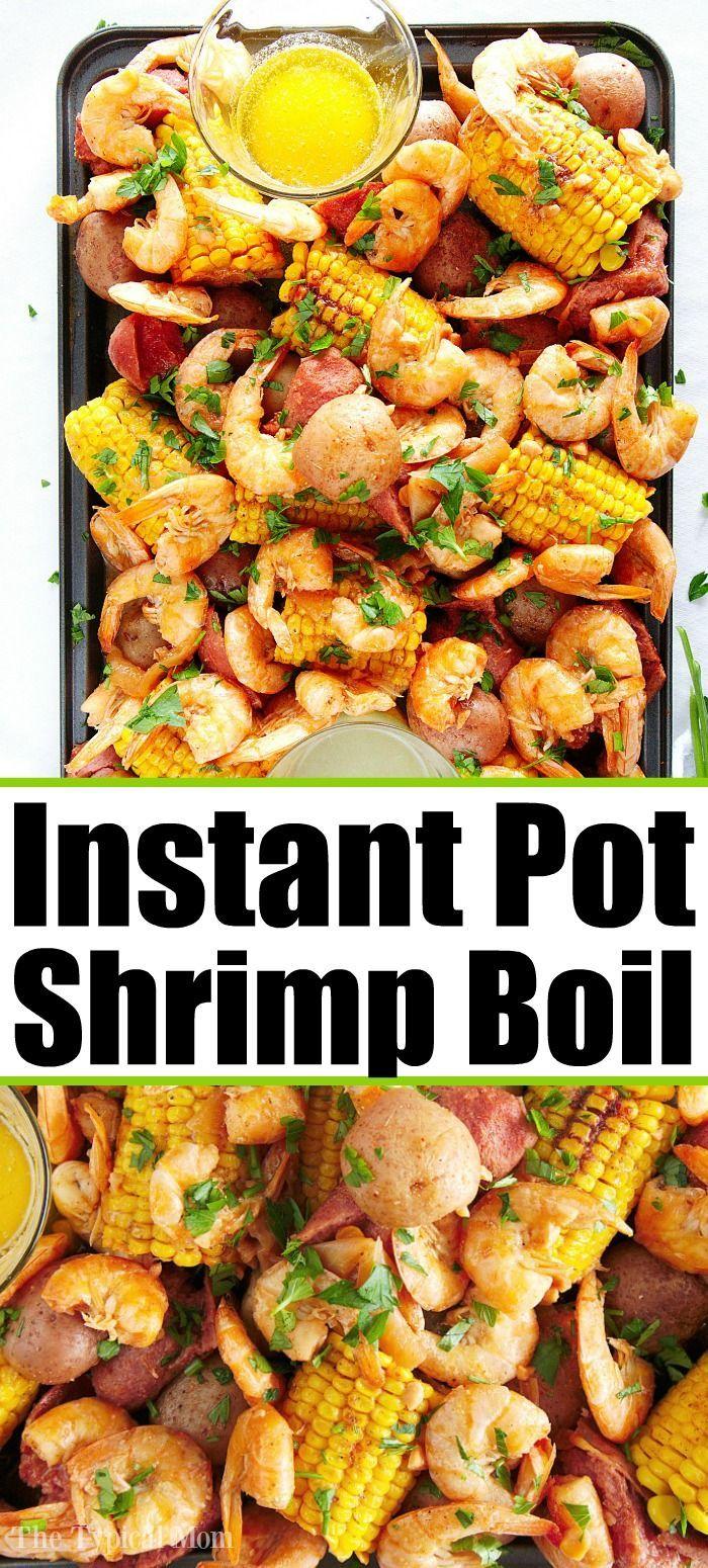 This Instant Pot Shrimp Boil is the Bomb!