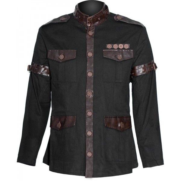 ba51bef3d3d Gothic steampunk jacket by Raven SDL