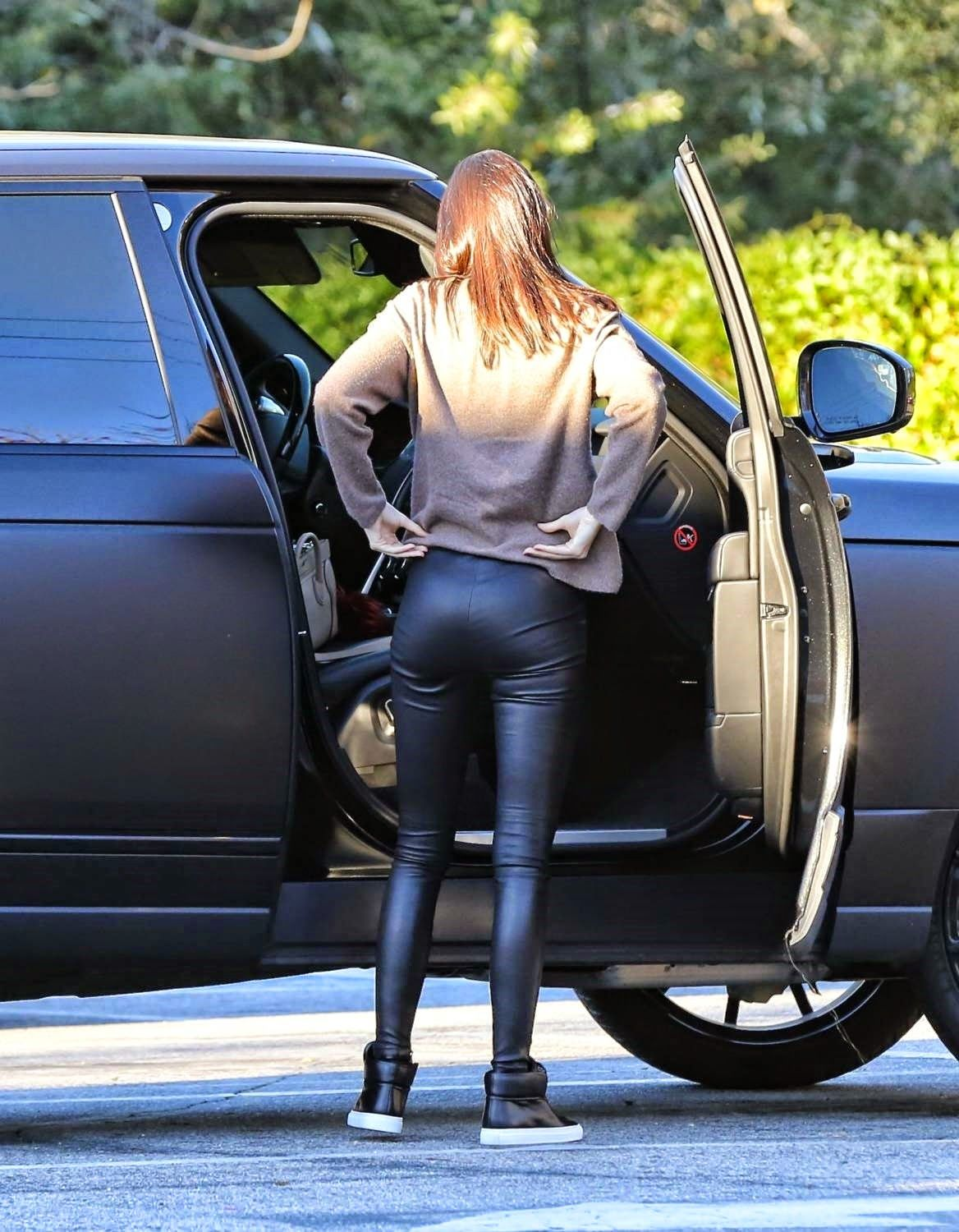 kendall jenner ass in leather | lovely ladies in leather: kendall