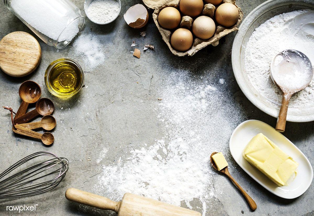 Download Premium Image Of Bakery Ingredients 94819