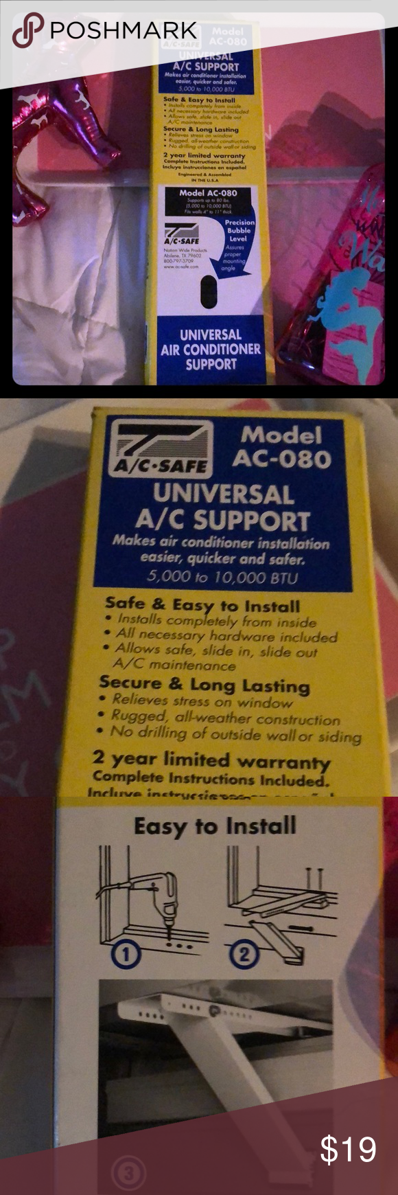 UNIVERSAL AC SUPPORT NEW Make air condition installation