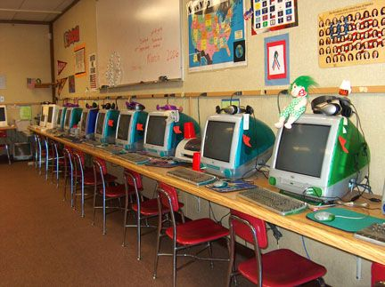 computer lab elementary school - Google Search | classroom ...