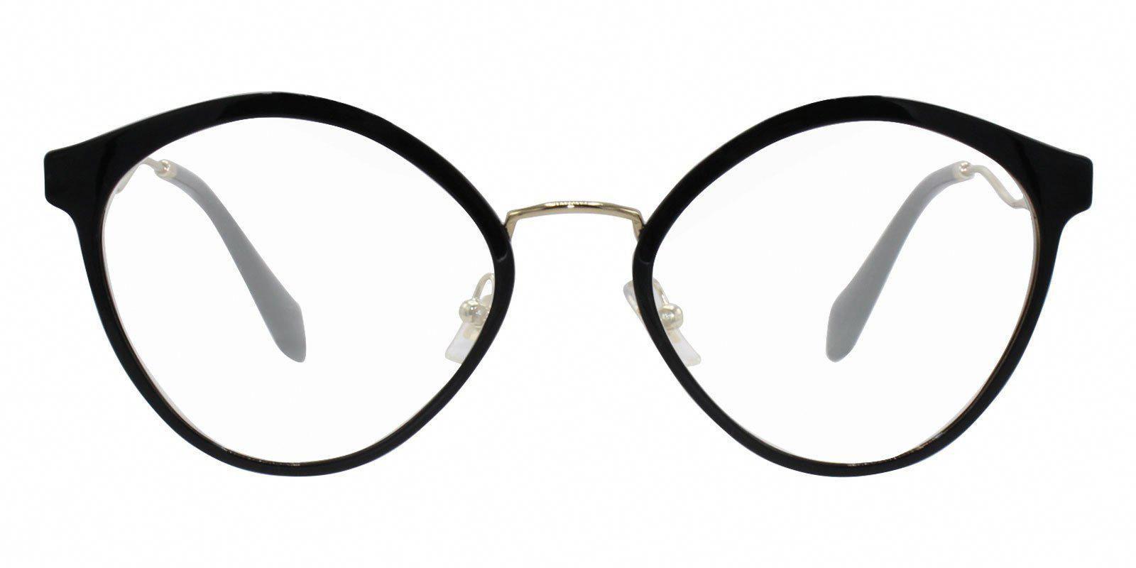 5df5fa9711f Miu Miu - MU52QV Black eyeglasses