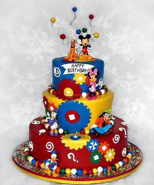 Disney Birthday Cake For The Fan
