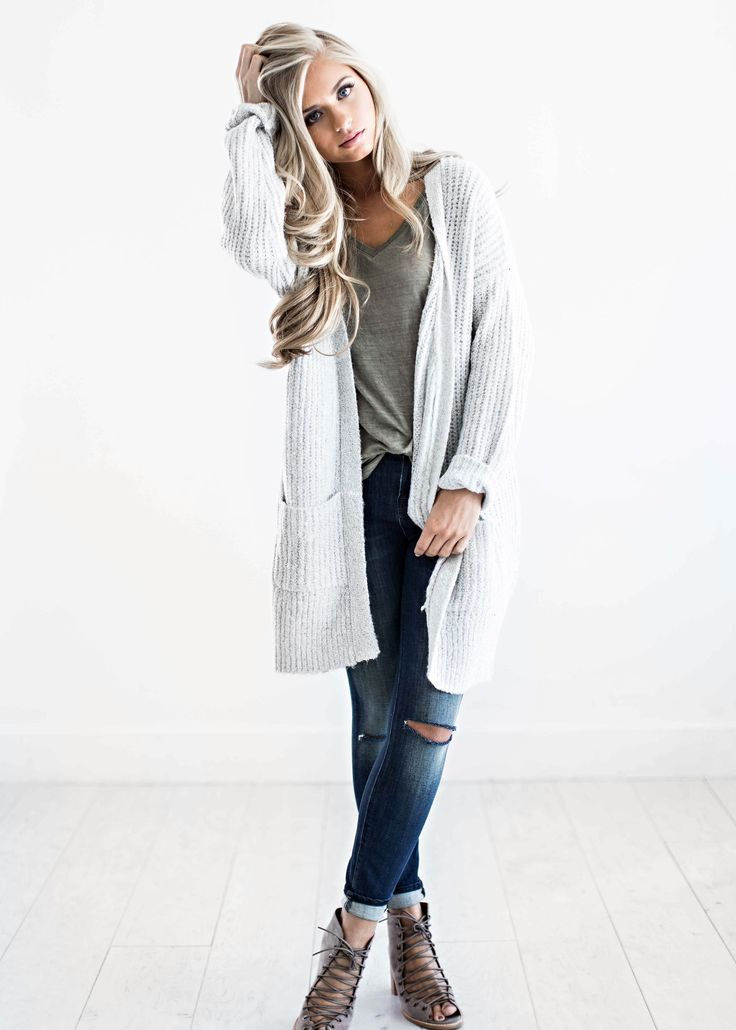 sweaters, light grey sweater, fall fashion, womens fashion ...