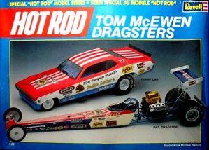 Sonstige Revell 1:25 Mongoose Plymouth Duster Funny Car Tom McEwen Model Kit