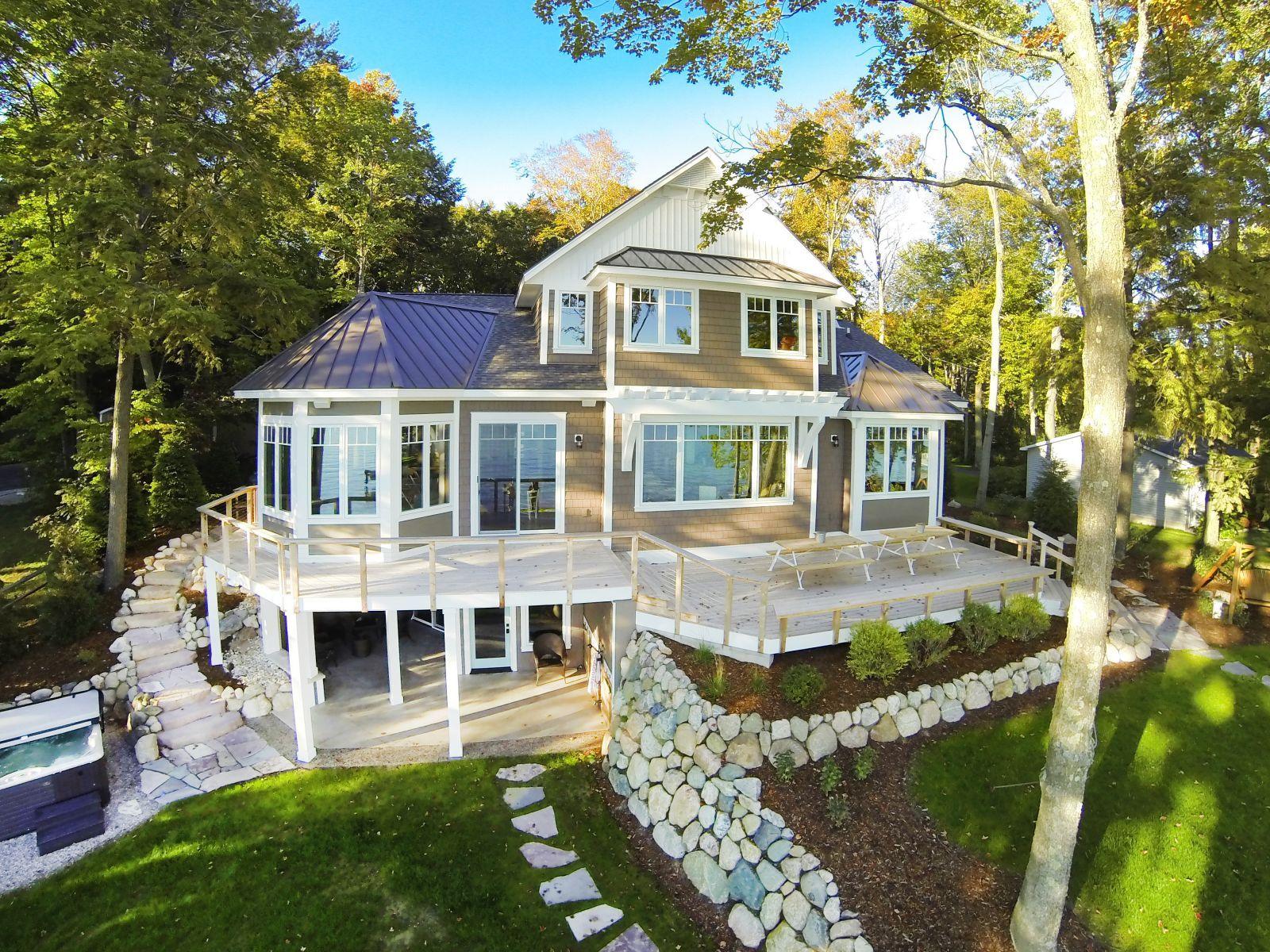 Dream house floor plan cottage classic mac custom homes for Custom cottage homes