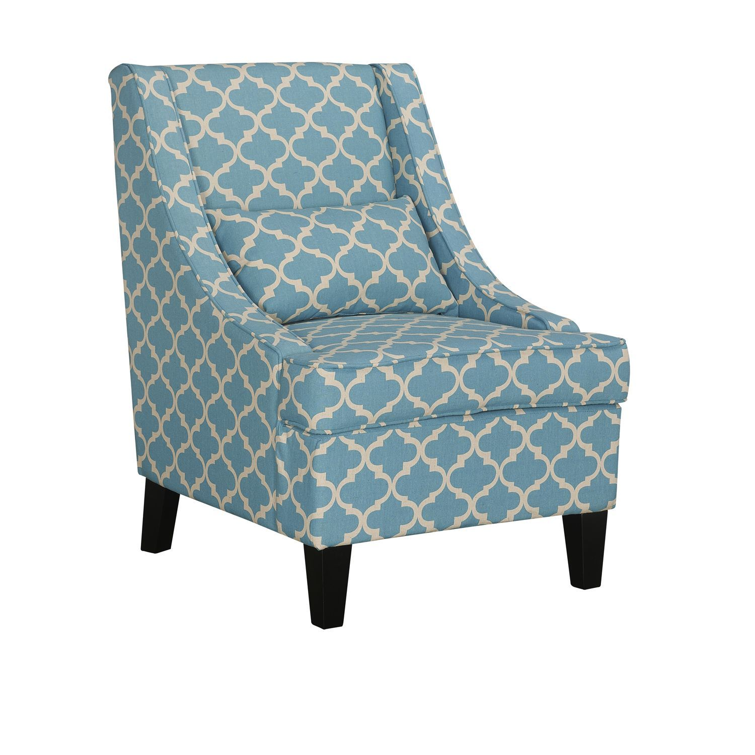 Ordinaire Baxton Studio Asplin Contemporary Patterned Upholstered Armchair
