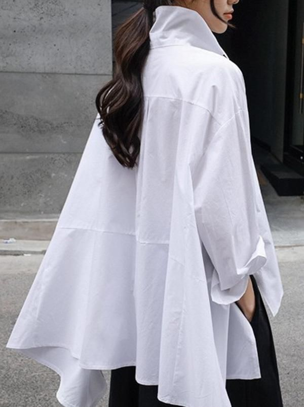 Photo of Casual Fashion Cropped Shirt