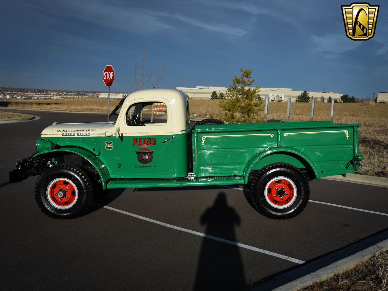For Sale In Our Denver Colorado Showroom Is A Green And White 1954 Dodge Power Wagon