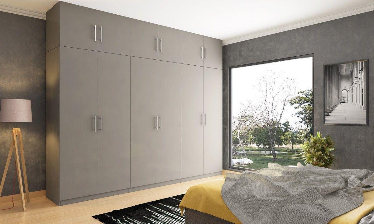 Livspace Com Sliding Door Wardrobe Designs Fitted Bedroom