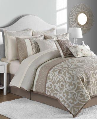 Sunham Montauk 14 Pc Queen Comforter Set Reviews Bed In A Bag