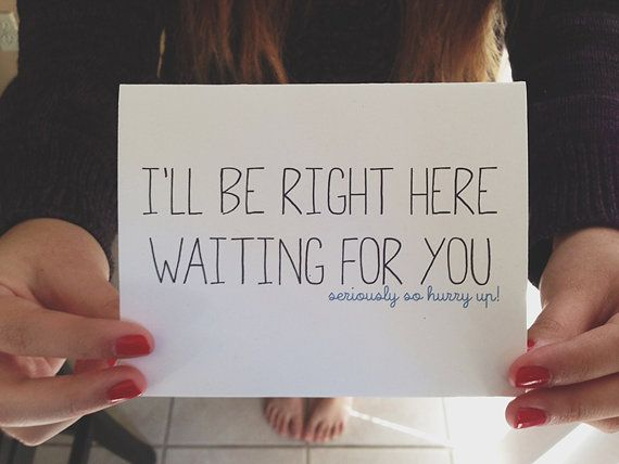 Missing you card ill be right here waiting for you greeting missing you card ill be right here waiting for you greeting card i miss you card long distance relationship card long distance relationships m4hsunfo