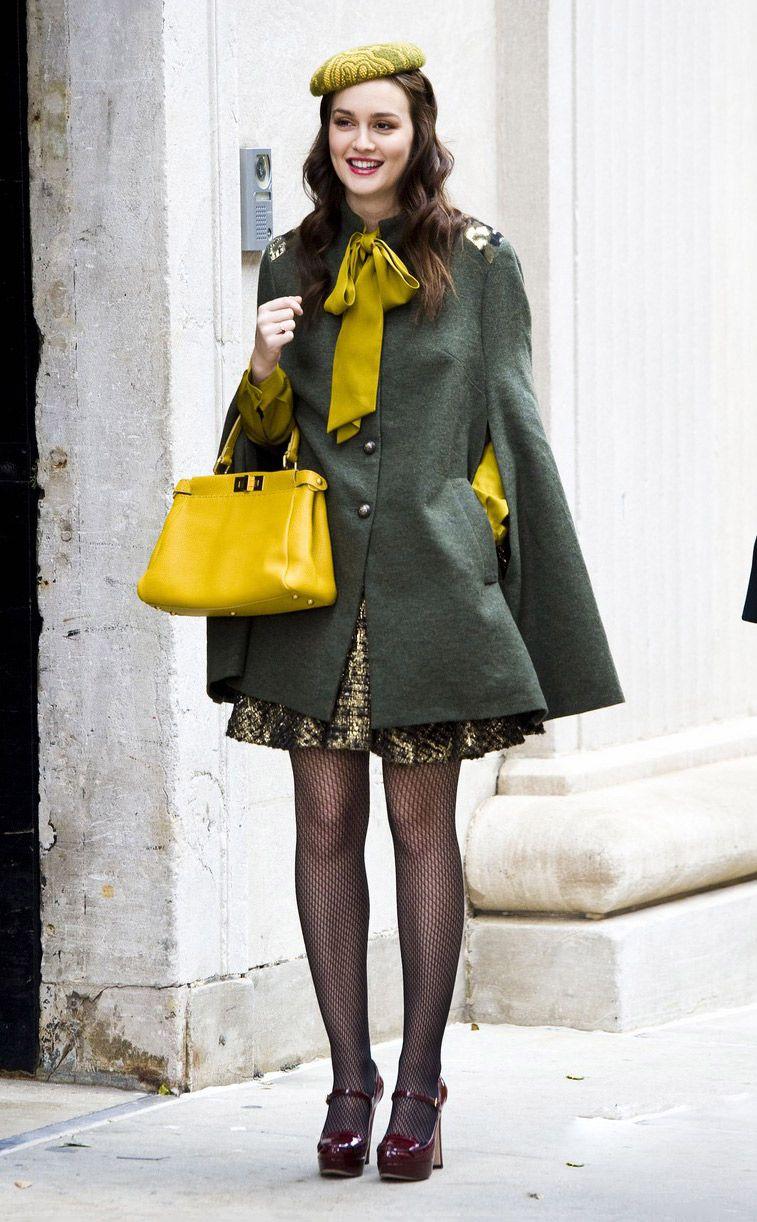 le look fille sage et luxueux de blair waldorf street style pinterest tenue ic nes et tenues. Black Bedroom Furniture Sets. Home Design Ideas
