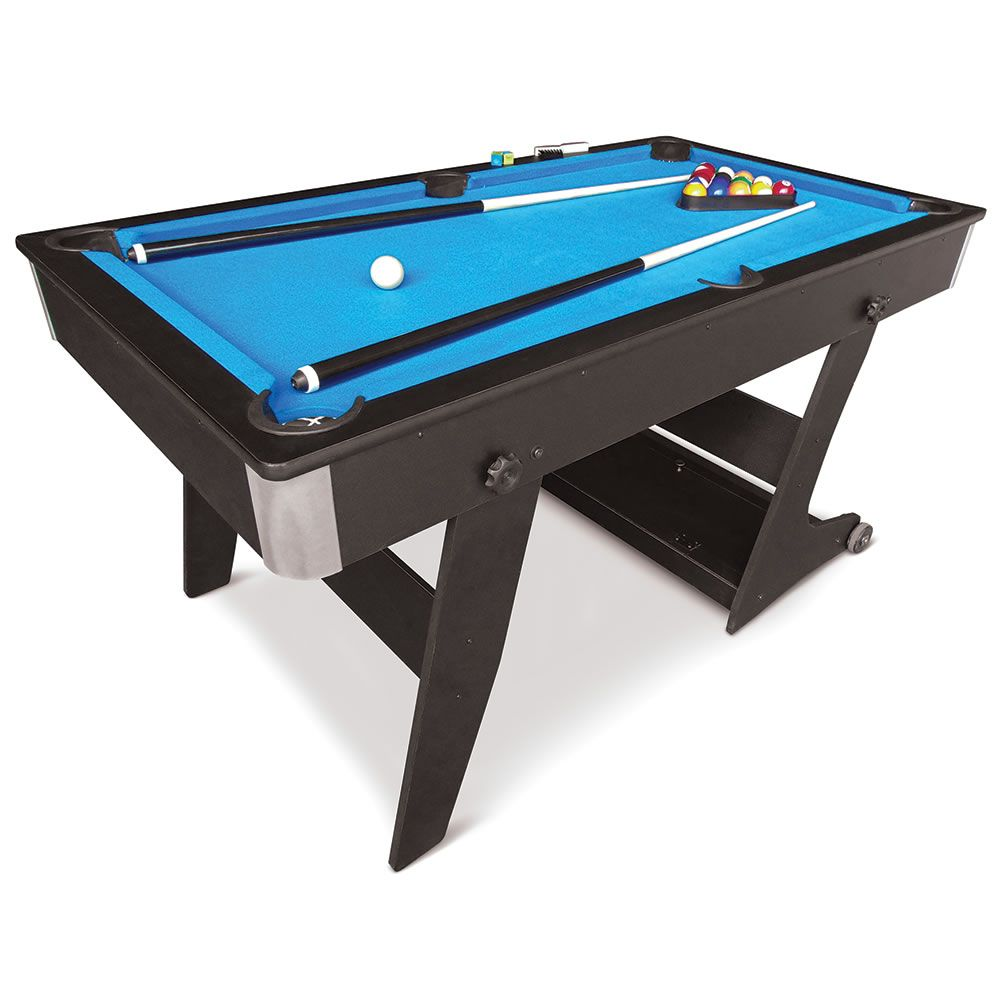 The Foldaway Pool Table   Hammacher Schlemmer | Childu0027s Play | Pinterest |  Hammacher Schlemmer And Pool Table