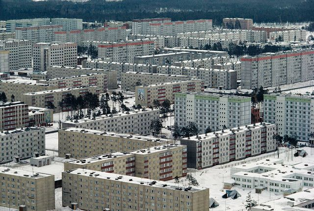 When The Chernobyl Nuclear Disaster Took Place In 1986 A Large