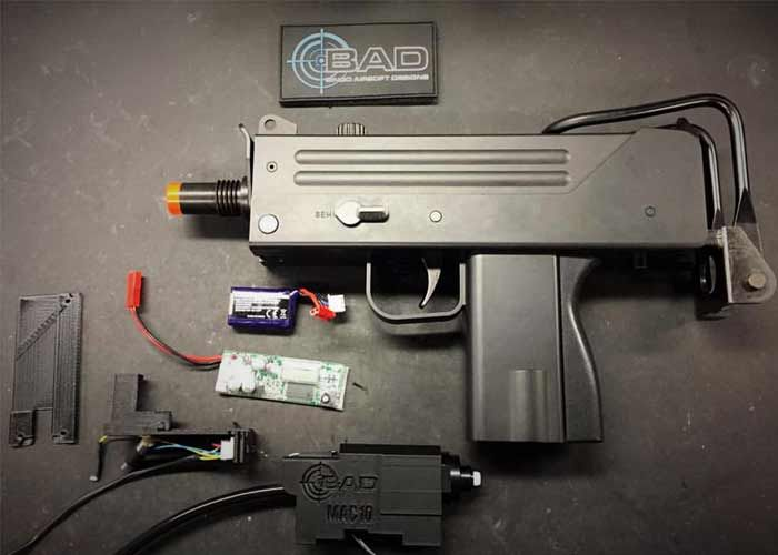 BAD MAC 10 JACK Gearbox Replacement Kit   Airsoft Wish List
