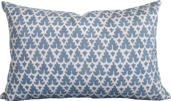 High End Designer Decorative Pillow Cover Quadrille Indoor Outdoor