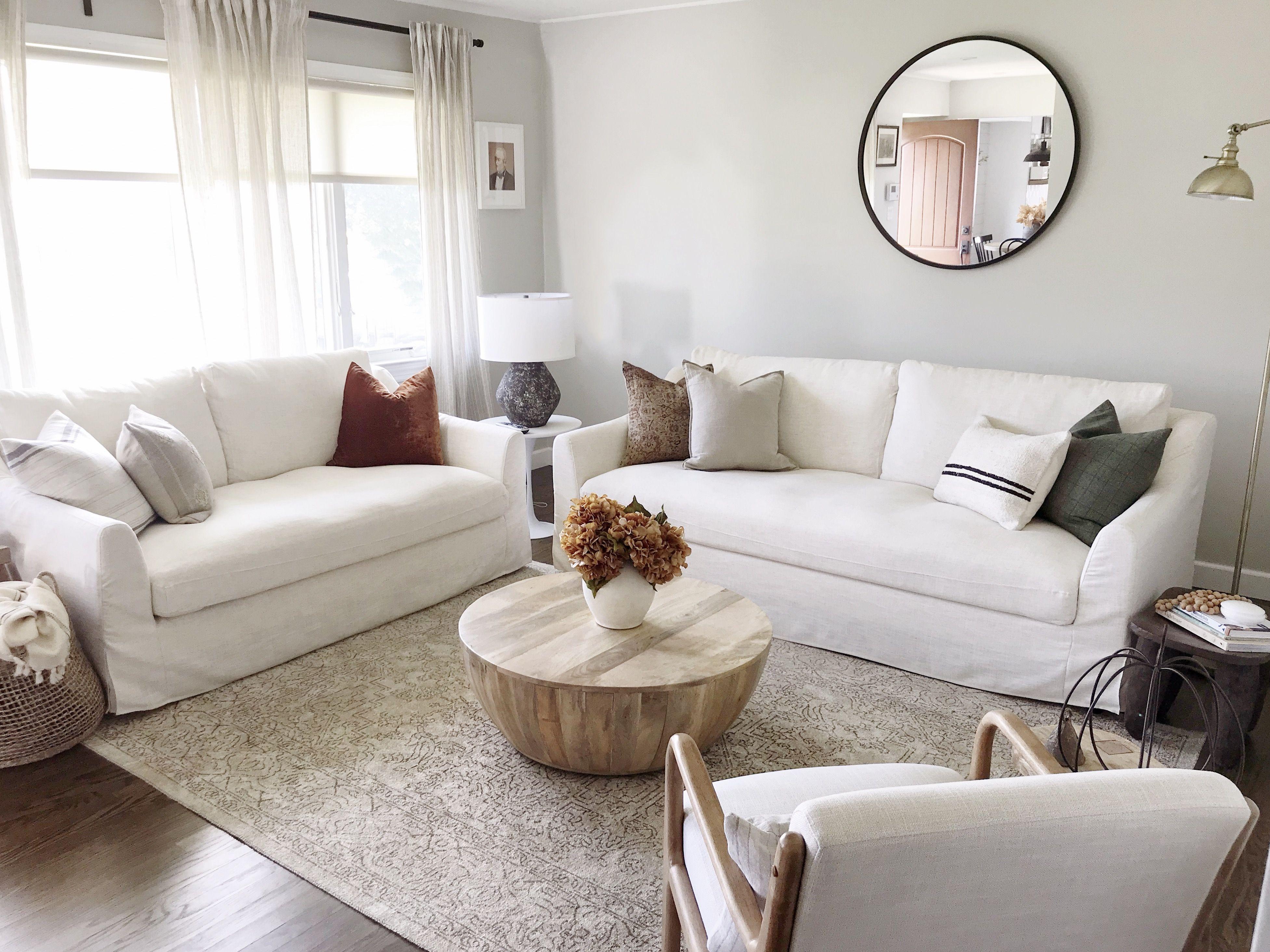 Ikea Farlov 2 Seater Sofa Cover In Luna Flax Linen Fabric Ikea Living Room Living Room White Living Room Sofa