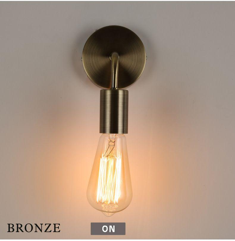 Vintage Led Lamparas Wall Lamp Bedroom Led Light Cabinet Lamparas Magnificent Lamp Bedroom Design Inspiration