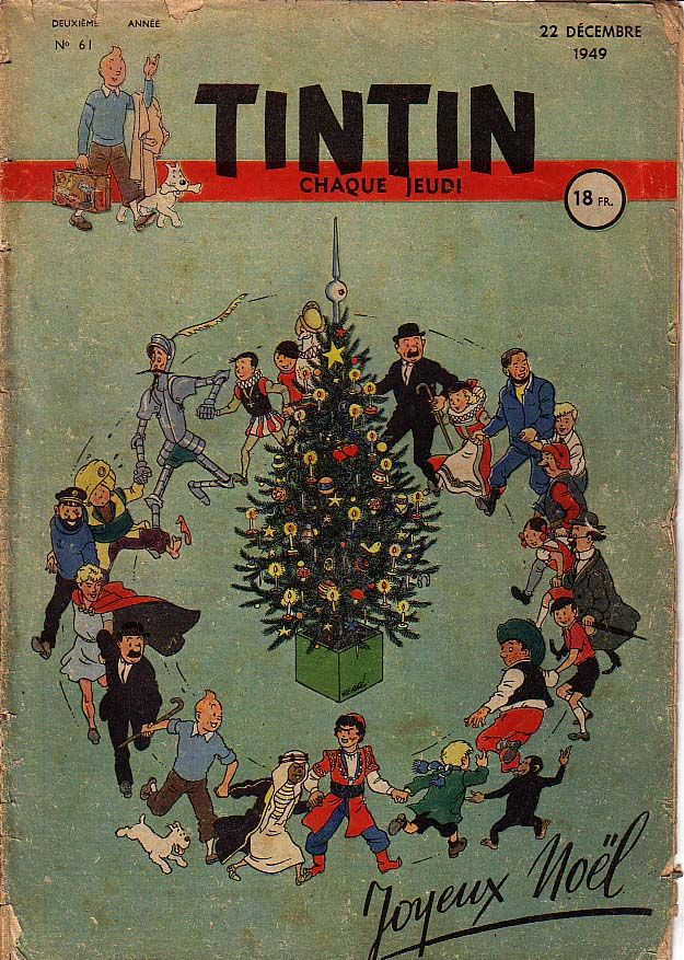 Journal de TINTIN édition Française N° 61 du 22 Décembre 1949