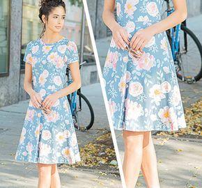 Kleid nähen - kostenlose Nähanleitung