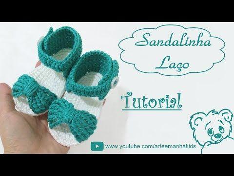 Sapatilha Alice em Crochê tamanho 10cm