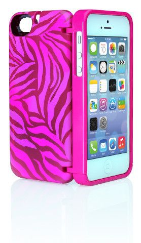 eyn for iPhone 5/5s - Pink Zebra | eyn | Zebra cases, Iphone cases ...