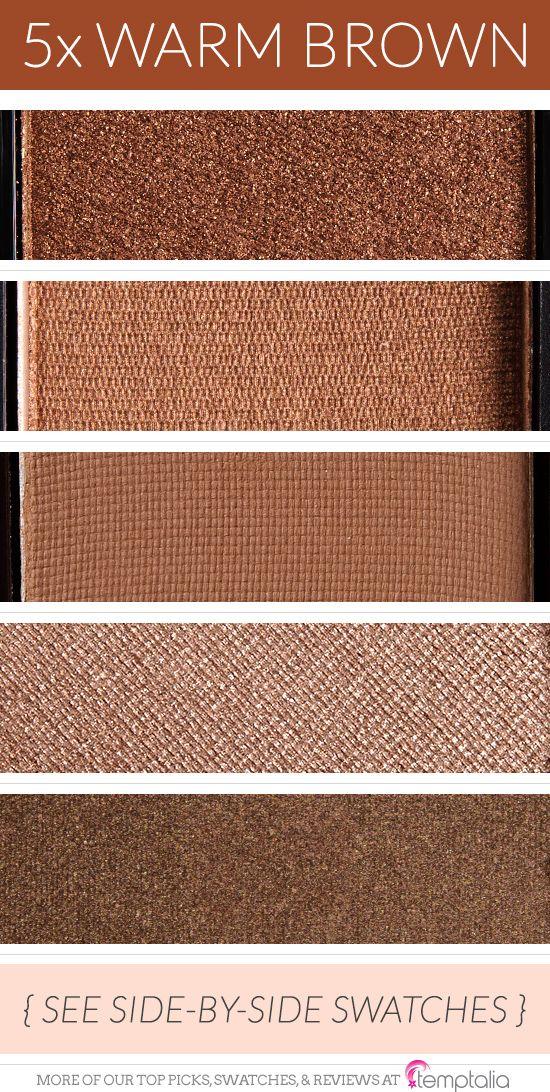 5 Warm Brown Eyeshadows to Try Eyeshadow, Makeup geek