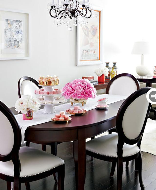 Glamorous Dining Rooms: Girly Glam Bachelorette Pad » Chic Glamorous And Splendid