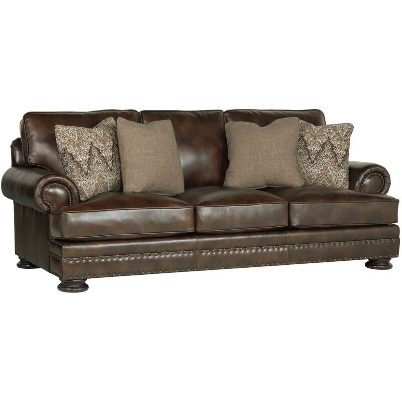 Foster Leather Sofa In 2020 Leather Sofa Sofa Upholstery