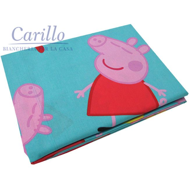 Novita Completo Lenzuola Novia Peppa Pig George Letto Cartoons Kids Completo Lenzuola Peppa Pig Lenzuola