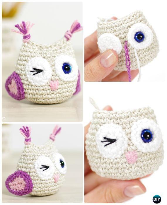Crochet Amimigurumi Owl Free Pattern-Amigurumi #Crochet Owl Free ...