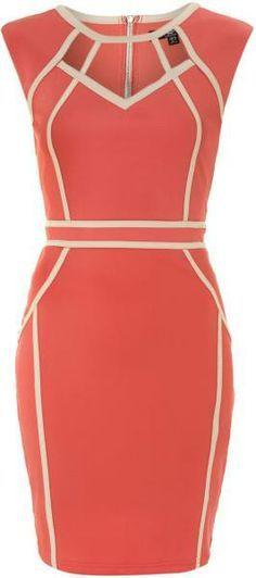 071704083 vestido tubinho com viés...lindo … | Vestidos | Dress…