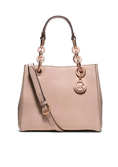 a5423c6979e1c MICHAEL Michael Kors Cynthia Small Satchel. Just got this can t wait to use  it. Rose gold hardware.