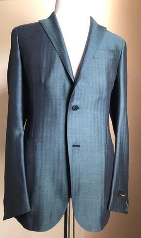 b39371da47 New $2995 Ermenegildo Zegna Sport Coat Blazer Blue 42 US ( 52 Eur ...