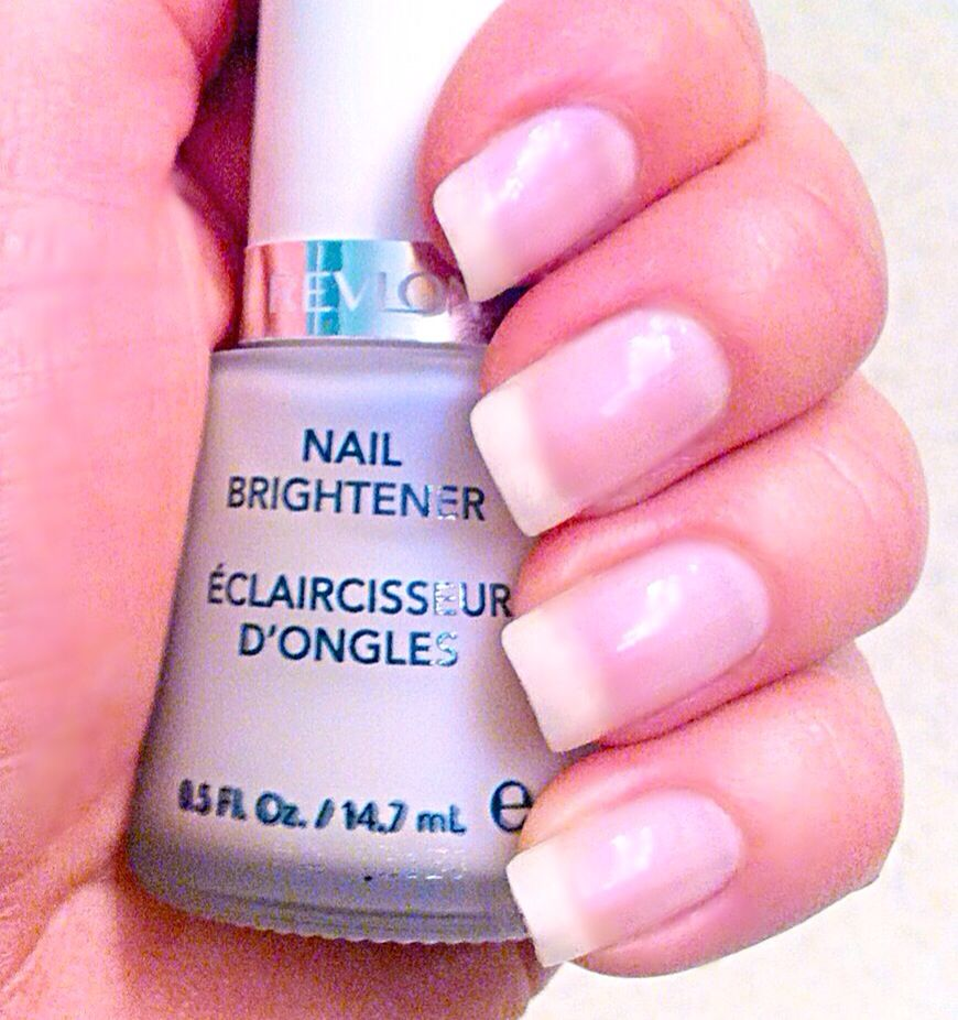 Instead Of Putting A Coat Clear Nail Polish On Try Revlon 945 Brightener