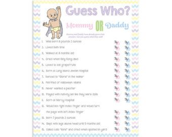 Exceptional Baby Shower Games