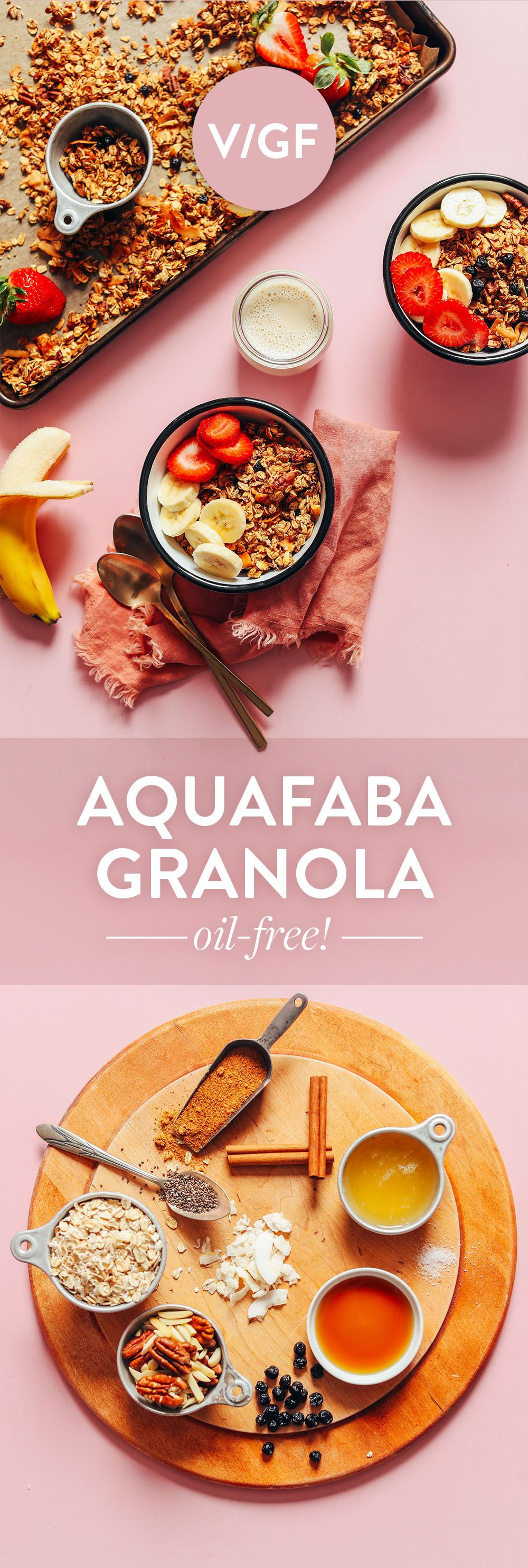 Easy Vegan Oil Free Granola Minimalist Baker Recipes Recipe Granola Oil Oil Free Vegan Granola