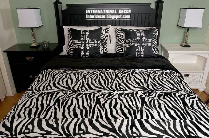 Stunning Ideas To Use Zebra Print And Pattern To Decorating Interior Amazing Zebra Print Decorating Ideas Bedroom