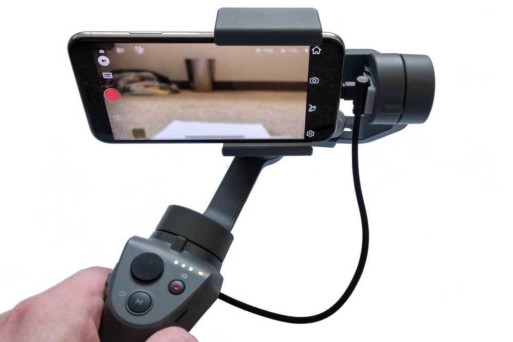 Franken-Cam: DJI Osmo Mobile 2 with Zoom H1n, Rode External