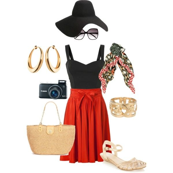 Roman Holiday, created by cindyleefl on Polyvore