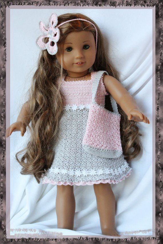 Annabellas Day Out Crochet Pattern For 18 American Girl Gotz