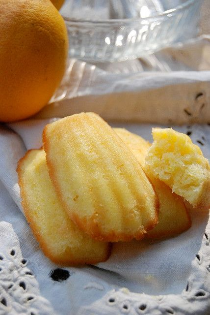 lemon madelines - such a simple French cookie, but one of my very favorites. :)