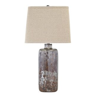 Signature Design by Ashley Shanilly Multi Glass Table Lamp | Overstock.com Shopping - The Best Deals on Table Lamps
