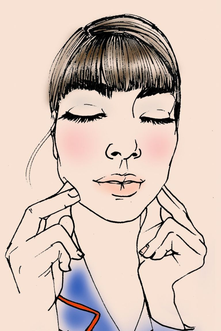 how to massage face to tighten skin