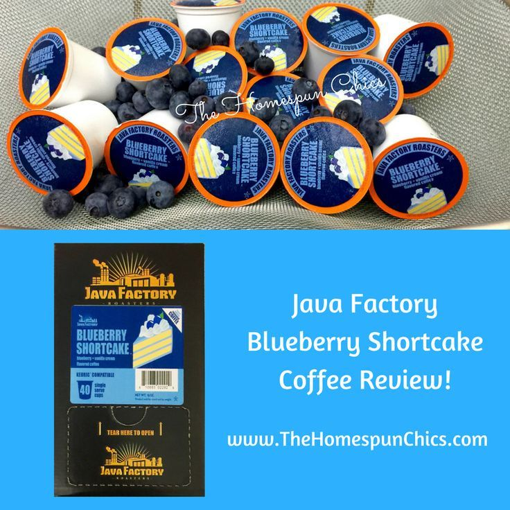 Java Factory Roasters Blueberry Shortcake Single Serve