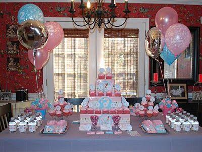 Aristocats table setup birthday theme Aprils 1st Bday Decor